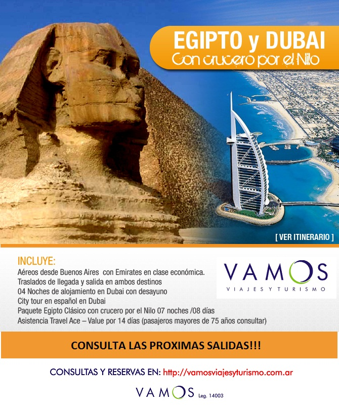 EGIPTO DUBAI OK
