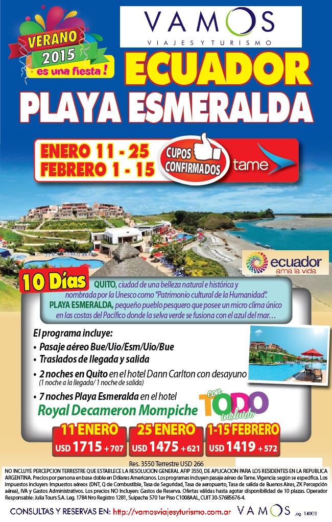 ECUADOR ENERO 2015 JULIA OK